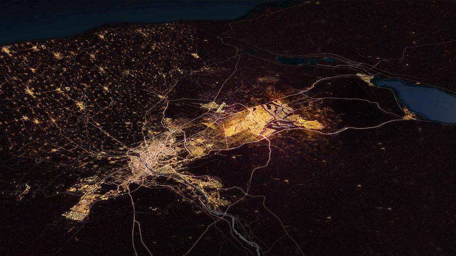 Nowy Kair mapa
