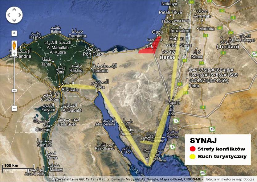 Bezpieczeństwo na Synaju Turyści w Egipcie są bezpieczni